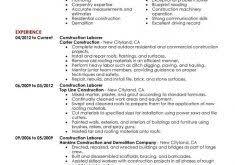 Construction Worker Resume Sample by Download Job Description Sample Resume Haadyaooverbayresort Com