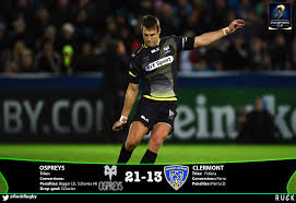 ospreys 21 13 clermont sam davies comes off the bench to inspire