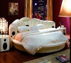 modern bedroom set furniture round bed o6804 aiden black round bed modern bedroom furniture