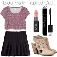 teen wolf lydia martin inspired polyvore