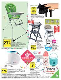chaise haute b b auchan auchan craquez pour bébé cataloguespromo com