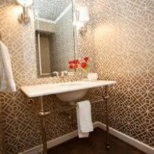 Modern Powder Room - midcentury modern bathroom photos hgtv
