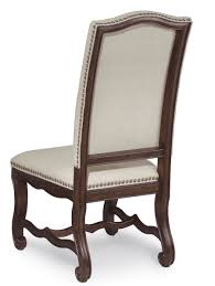 linen chairs coronado linen upholstered side chairs 72206 2612
