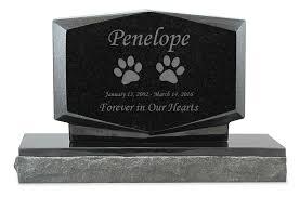 granite grave markers cat prints pet upright grave marker black granite headstone
