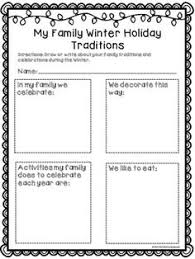 this family tradition activity celebrations year 1 unit