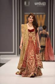 pkvogue banaras bridal collection by saira rizwan at fpw