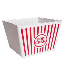 popcorn baskets bulk large plastic popcorn tubs 8 75 in wide at dollartree
