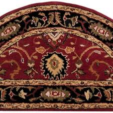 half circle rugs u0026 area rugs for less overstock com