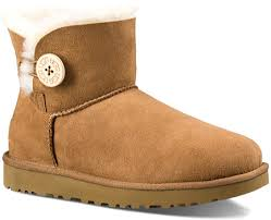 womens ugg boots bailey button sale boots sale ugg mini bailey button ii womens chestnut womens