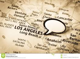 Map Los Angeles Ca by Los Angeles California Map Royalty Free Stock Images Image