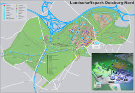 Nord America Map by Landschaftspark Duisburg Nord Map