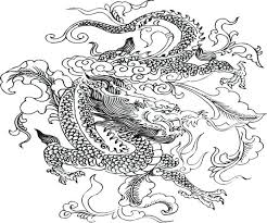 detailed coloring pages of dragons dragon coloring page dragon boat festival coloring pages detailed