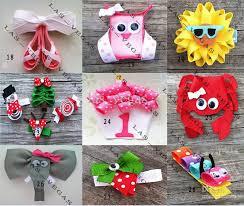 grosgrain ribbon wholesale baby animals hair hair clip children hair bow kid