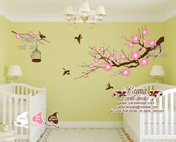 Wall Nursery Decals Nursery Decals Tree Wall Decals By Cuma Wall Decals On Zibbet