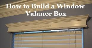 Building A Box Blind How To Build A Small Valance Box For 14 54 The Joy Of Moldings Com