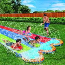backyard water slides inflatable slip n slide outdoor summer