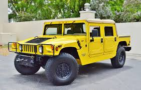 1997 hummer h1 4 4 pickup real muscle exotic u0026 classic cars