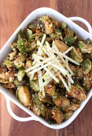 fried whiskey glazed brussels sprouts mantitlement