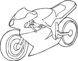 yamaha motorcycle colouring page colouring tube