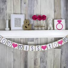 bridal shower banner phrases best miss to mrs banners products on wanelo