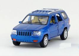 jeep cherokee toy blue green red white 1 32 kid diecast jeep grand cherokee toy