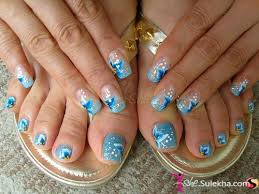 tropical acrylic nails acrylic and 3d nail designs pictures