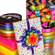 poly ribbon satin finish poly ribbons