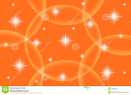abstract orange color background with star stock illustration