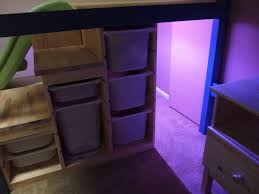 Ikea Hack Twin Bed With Storage Wowee Full Over Twin Bed With Stairs Slide And Secret Room