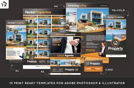 22 real estate brochure template psd eps indesign format