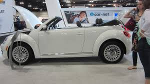 volkswagen white convertible denver auto show