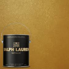home depot paints interior ralph 1 gal gold metallic specialty finish interior