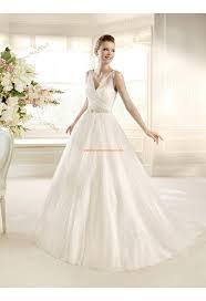 robe de mariã e princesse robe de mariée princesse col v tulle strass