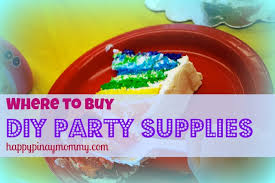where to buy party favors where to buy diy party supplies in the philippines happy