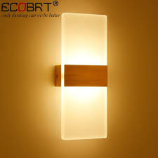 Square Wall Sconce Modern 100cm Long 24w Luminaria Aluminum Led Wall Sconces Lamps 85