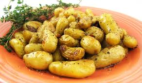 How To Roast Garlic In Toaster Oven Teeny Tiny Potatoes With Sweet Roasted Garlic Trader Joe U0027s