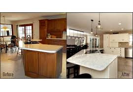 Kitchen Remodel Before After by Kitchen Remodeling Project U2013 Miracle Contracting Fort Wayne