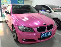 matte black and pink bmw bmw 3 series sedan is shiny pink in china carnewschina com