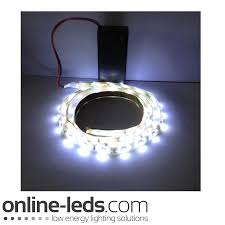 Led Strip Light Power Consumption by Cool White 9v Battery Operated Led Strip Ligh Leds Strip