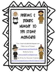 pilgrim coloring page for kindergarten ideas