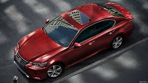 lexus matador red lexus gs 350 matador red color top view hd wallpaper latest cars