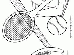 beautiful free printable sports coloring pages 45 free