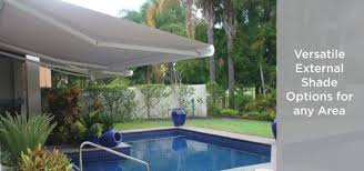 custom canopies awnings blinds and shade solutions