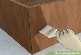 how to make a coffin coffin diy project horror amino