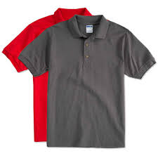 design custom printed gildan ultra cotton polo shirts at