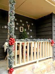 baby nursery foxy front porch christmas decorating ideas country
