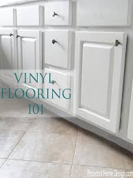 Bathroom Vinyl Flooring by Vinyl Flooring Options