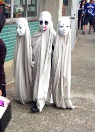 creepy ghosts illusion costume creepy ghost halloween costume