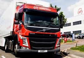 red volvo truck nft gives volvo and hartshorne exclusive truck supply deal www