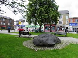 Durham England Map by The Devil U0027s Stones Crook Natural Stone Erratic Other Natural